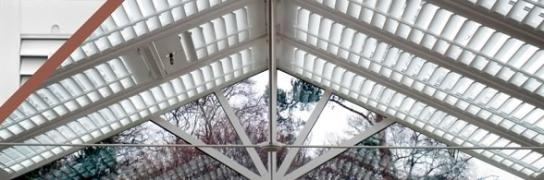 Shutter conservatory roof