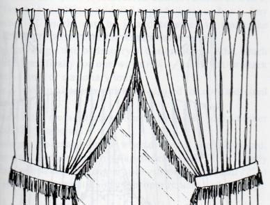 Pinch Pleat Heading Curtains From Interior Inspirations